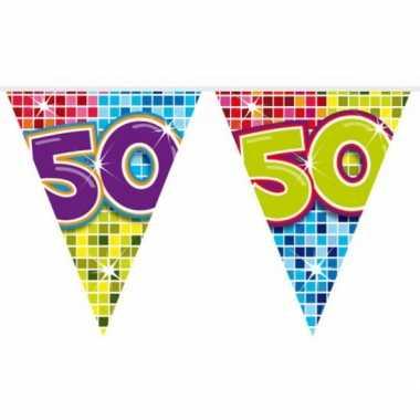 Mini vlaggetjeslijn 50 jaar