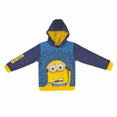 Minions kinder sweater met capuchon