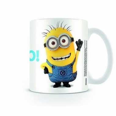 Minions koffiemok bello!
