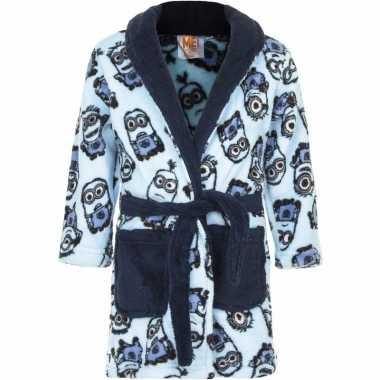 Minions ochtendjas blauw voor jongens