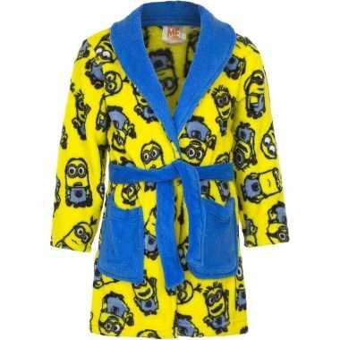 Minions ochtendjas geel voor jongens