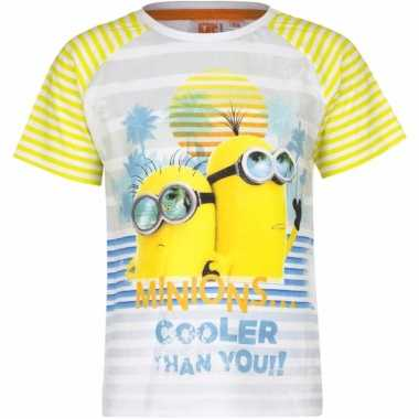Minions shirt cooler than you! voor kinderen