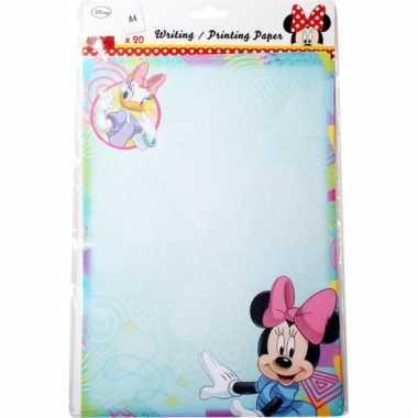 Minnie mouse a4 papier 20 vellen