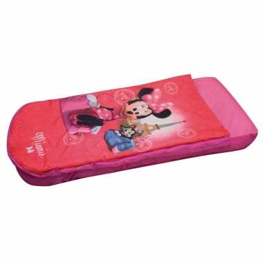 Minnie mouse luchtbed met dekbed 150 x 90 cm