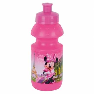 Minnie mouse pop-up schoolbeker 350 ml