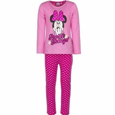 Minnie mouse pyjama fuchsia