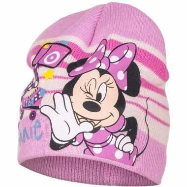 Minnie mouse warme muts voor meisjes