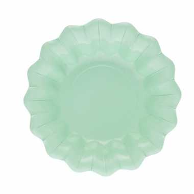 Mint snack schaaltjes 24 cm