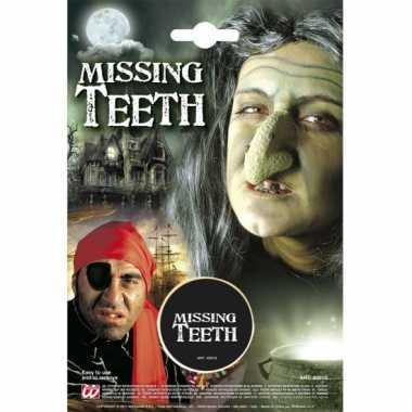 Missende tanden schmink