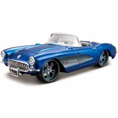 Model auto chevrolet corvette cabrio 1957