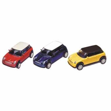 Model auto mini cooper 7 cm