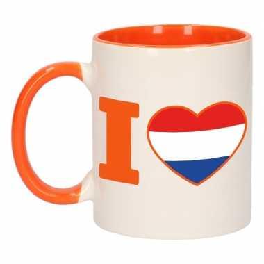 Mok/ beker i love holland 300 ml