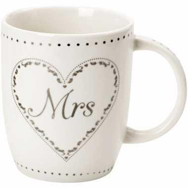 Mokken mrs tiara 10 cm voor de bruid