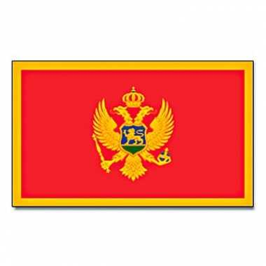 Montenegrijnse vlag 90x150 cm