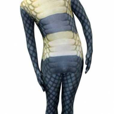 Morphsuit met slangen print