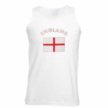Mouwloos t-shirt met engelse vlag