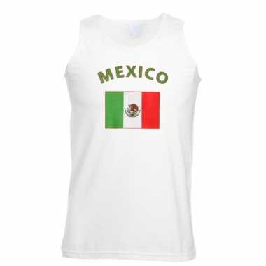 Mouwloos t-shirt met mexicaanse vlag