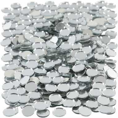 Mozaiek spiegel tegels 10x10 mm
