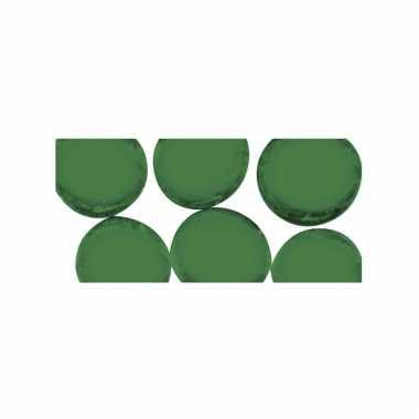 Mozaiek steentjes groen rond