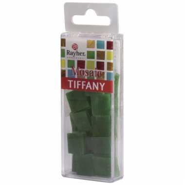 Mozaiek steentjes marmer groen