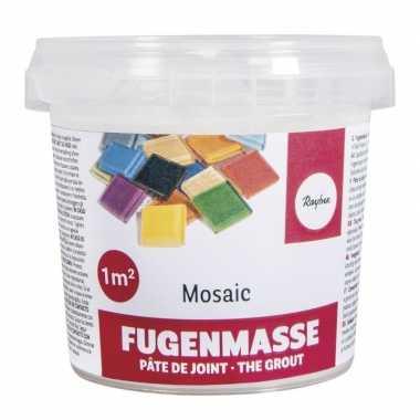 Mozaiek voegmiddel wit emmer