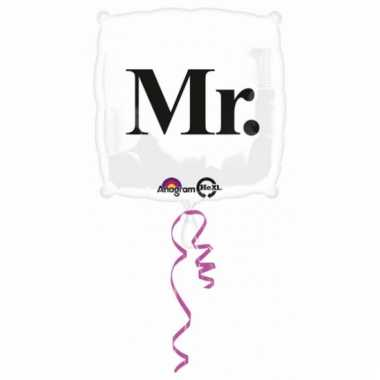 Mr. helium ballon