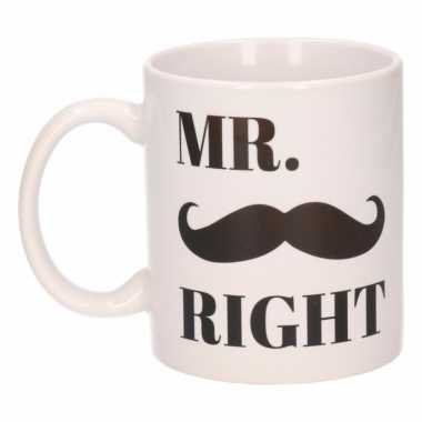 Mr. right koffiemok / beker 300 ml