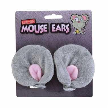 Muizen verkleed set oren