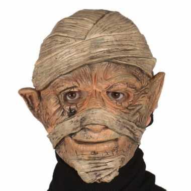 Mummie masker gemaakt van rubber