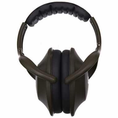 Muziek oorbeschermer groen