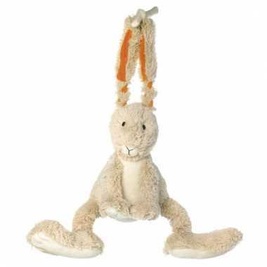 Muziekdoos knuffel konijn 26 cm