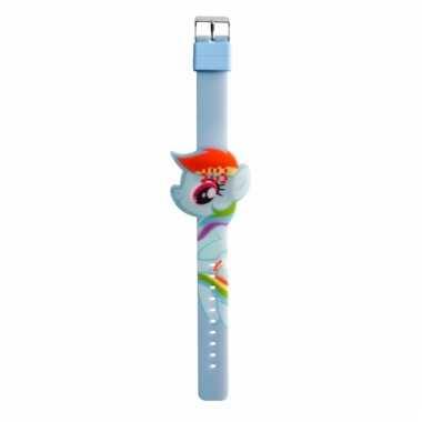My little pony horloge rainbow dash voor meisjes