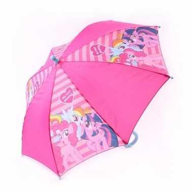 My little pony kinderparaplu roze 45 cm voor kinderen
