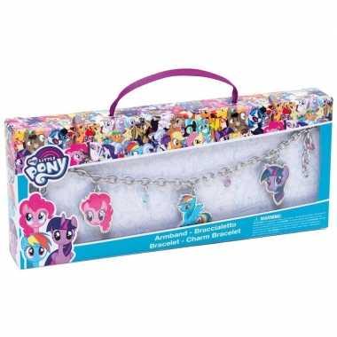 My little pony sieraden bedel armband twilight sparkle/rainbow dash/p
