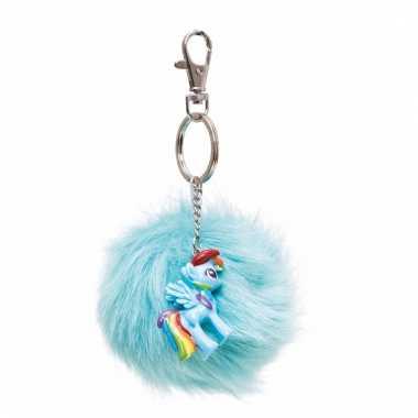 My little pony sleutelhangertje rainbow dash voor meisjes