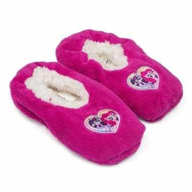 My little pony slofjes roze anti-slip voor kinderen