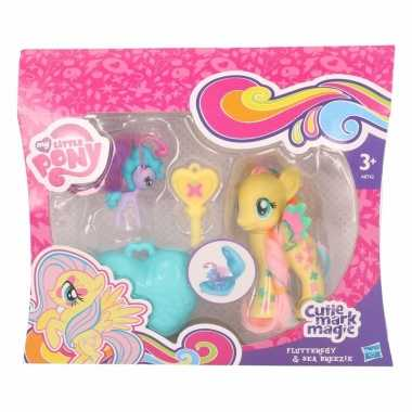 My little pony speelfiguren set geel