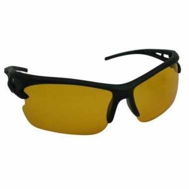 Nachtzicht bril zwart voor nachtblindheid