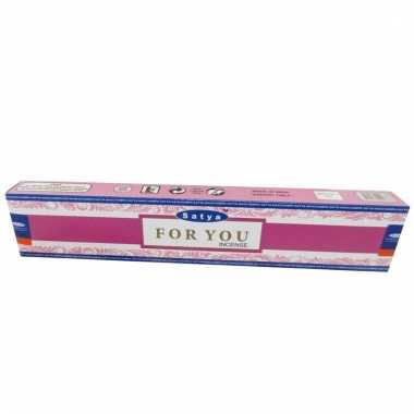 Nag champa wierookstokjes for you 15 gram