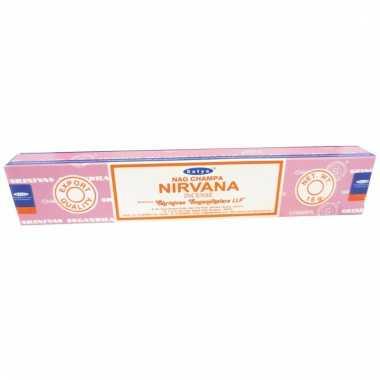 Nag champa wierookstokjes nirvana 15 gram