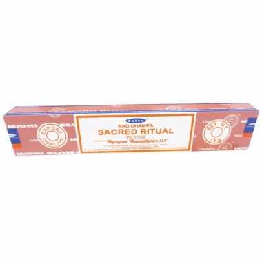 Nag champa wierookstokjes sacred ritual 15 gram