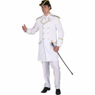 Napoleon verkleedjas wit