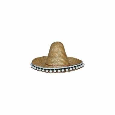 Naturel mexicaanse sombrero 60 cm