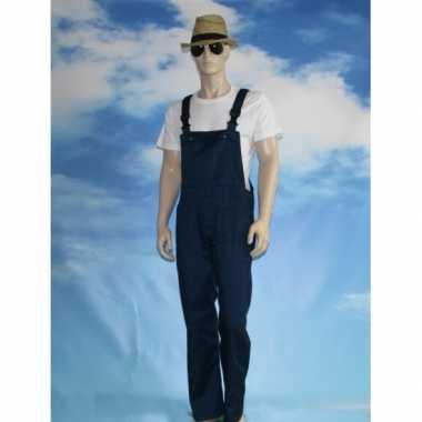 Navy tuinbroek voor dames en heren
