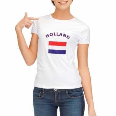 Nederlandse vlag t-shirt voor dames