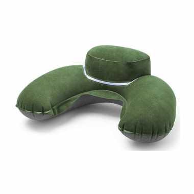 Nekkussen groen extra dik