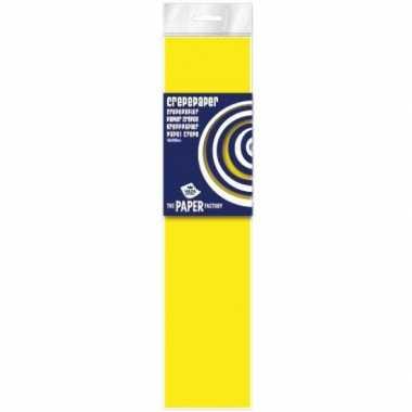 Neon geel crepe papier plat