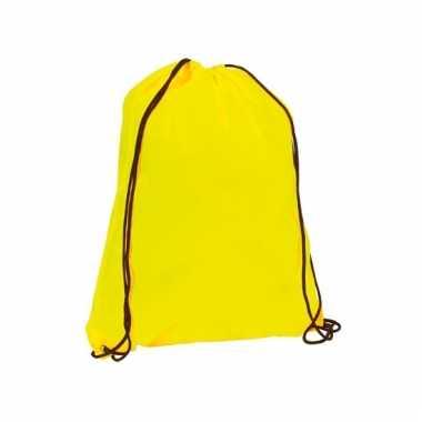 Neon geel gymtasje