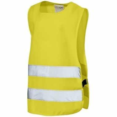 Neon geel veiligheidsvest voor kids