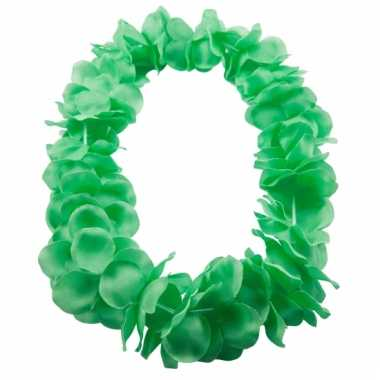 Neon groene hawaii krans